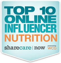 Top Ten Online Influencer Nutrition